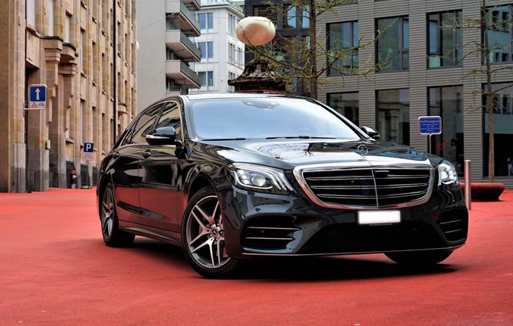 Mercedes Luxury Car Bellinzona